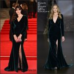 Monica Bellucci In Ralph & Russo Couture  At 'Spectre' London Premiere
