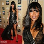 Naomi Campbell  in Versace – FX's 'American Horror Story: Hotel' Los Angeles Screening