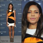 Naomie Harris In Christian Dior  At  'Spectre' London Photocall