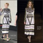 Nicole Kidman In Erdem  At  Women Of The Year Lunch & Awards