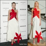 Olivia Wilde In  Rosie Assoulin – 'Meadowland' New York Premiere