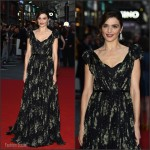 Rachel Weisz In Alexander McQueen At  'The Lobster' London Film Festival Premiere