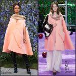 Rihanna attends Dior  Spring 2016  Show at Paris Fashion Week