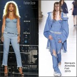 Rihanna In Marques'Almeida – The Voice