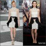 Rooney Mara in Giambattista Valli Couture  at  'Pan' New York  Premiere