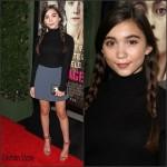 Rowan Blanchard  in Aritzia – Focus Features' 'Suffragette'  Los Angeles Premiere