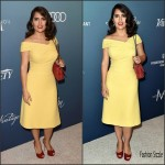 Salma Hayek  in Bottega Venetta –  2015 Variety Power of Women Luncheon L.A.
