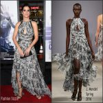 Sandra Bullock In J. Mendel  At  'Our Brand Is Crisis' LA Premiere