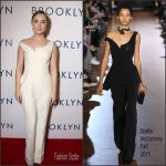 Saoirse Ronan In Stella McCartney  AT 'Brooklyn' LA Premiere