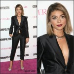 Sarah Hyland  in Dsquared2 – Cosmopolitan's 50th Birthday Celebration in West Hollywood