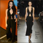 Selena Gomez In Roland Mouret– The Today Show
