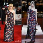 Sienna Miller in Marc Jacobs at the 'Burnt' London Premiere