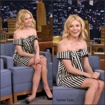 Sienna Miller  in Monse -'The Tonight Show Starring Jimmy Fallon'