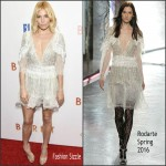 Sienna Miller In Rodarte  At  'Burnt' New York Premiere