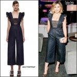 Sophia Bush In Self-Portrait  '  At the Restoration Hardware Chicago Opening