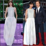 Sophie Hunter In Christian Dior Couture  AT 'Black Mass' London Film Festival Premiere