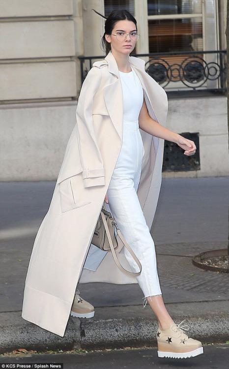 Kendall+Jenner++Colette+store++Paris,+France+(October+2).