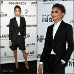 Zendaya Coleman In  DSQUARED2 – amfAR's Inspiration Gala Los Angeles