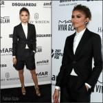 Zendaya Coleman In  DSQUARED2 – amfAR's Inspiration Gala Los Angeles
