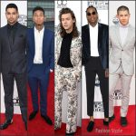 2015 American Music Awards Menswear