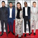 2015 American Music Awards Menswear