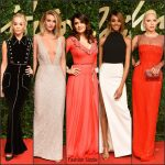 2015 British Fashion Awards Red Carpet