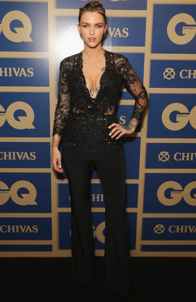ruby-rose-in-zuhair-murad-at-2015-gq-men-of-the-year-awards