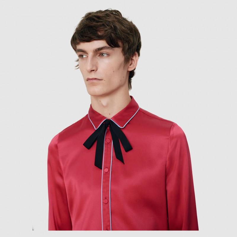 Gucci-Men-2015-Crepe-Satin-Shirt-with-Piping-800x800