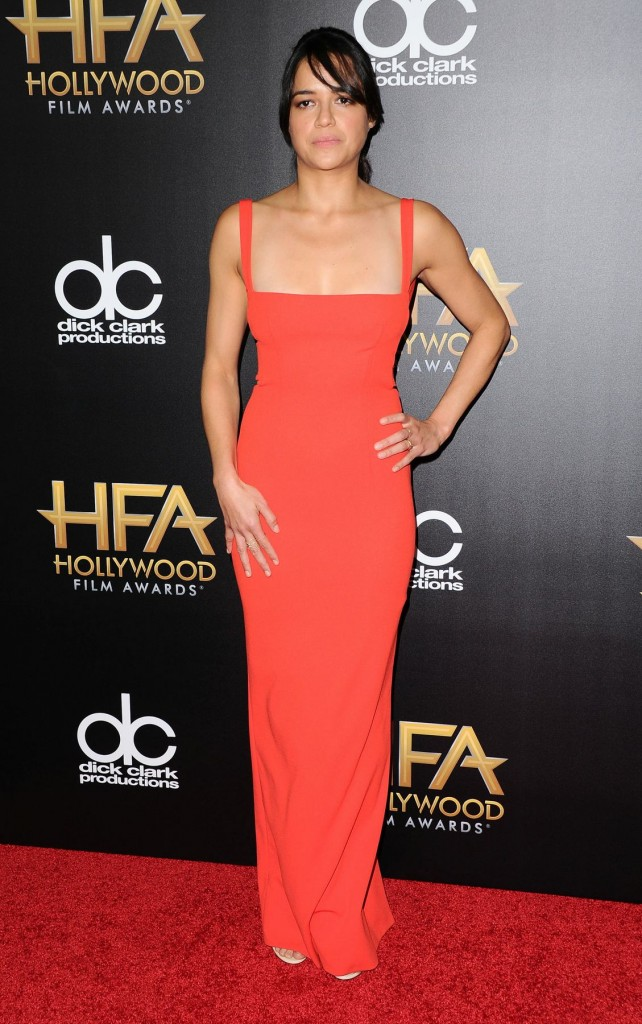 MichelleRodriguez--19th -Annual -Hollywood -Film -Awards - Arrivals