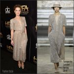 Amber Heard in Temperley London at 19th Annual Hollywood Film Awards