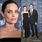 Angelina Jolie In Tom Ford At WSJ. Magazine 2015 Innovator Awards