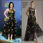 Anna Paquin In Monique Lhuillier  AT 'The Good Dinosaur' LA Premiere