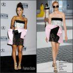 Ariana Grande in Giambattista Valli Couture -2015 American Music Awards