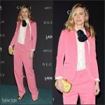 Brit Marling  In Gucci  At The LACMA 2015 Art+Film Gala