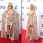 Carrie Underwood In Elie Madi – 2015 American Music Awards