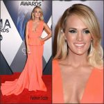 Carrie Underwood In Gauri & Nainika  at  2015 CMA Awards