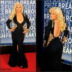 Christina Aguilera  in Stello – 2016 Breakthrough Prize Ceremony
