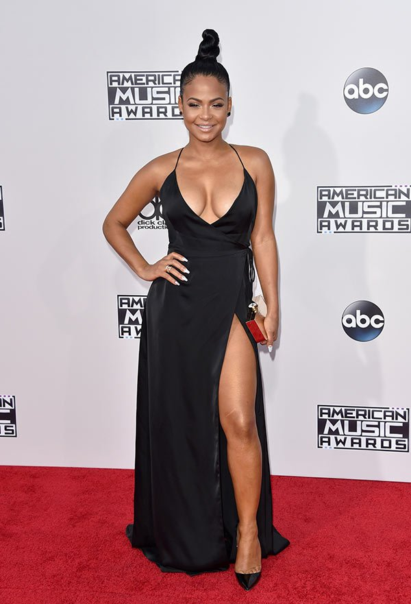 christina-milian-amas-best-dressed-american-music-awards-2015