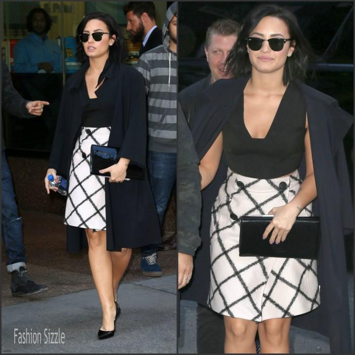 Demi Lovato – Arriving at the GMA Studios in New York City