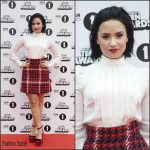 Demi Lovato In Miu Miu  At  BBC Radio 1 Teen Awards