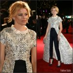Elizabeth Banks In Razan Alazzouni AT 'The Hunger Games: Mockingjay – Part 2' London Premiere