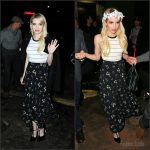 Emma Roberts – Leaving Teen Vogue Party in Los Angeles, October 2015