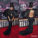 Erykah Badu  in Stéphane Rolland Haute Couture  – 2015 BET Soul Train Awards