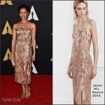 Gugu Mbatha-Raw In Jason Wu At  Academy Of Motion Picture Arts And Sciences' 7th Annual Governors Awards