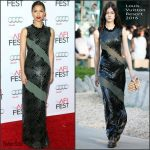 Gugu Mbatha-Raw In Louis Vuitton  At  'Concussion' AFI FEST 2015 Premiere