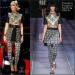 Gwen Stefani In  Fausto Puglisi – 'The Voice' Live Play Off