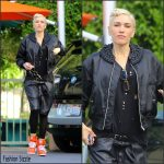 Gwen Stefani  spotted  Arriving at the Studio in Burbank, November 2015
