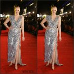 Gwendoline Christie In Vivienne Westwood Couture  At  'The Hunger Games: Mockingjay – Part 2' London Premiere