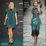 Gwyneth Paltrow   In Gucci At LACMA 2015 Art+Film Gala