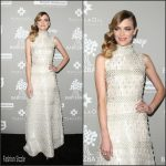 Jaime King  in  Naeem Khan  – 2015 Baby2Baby Gala at 3Labs